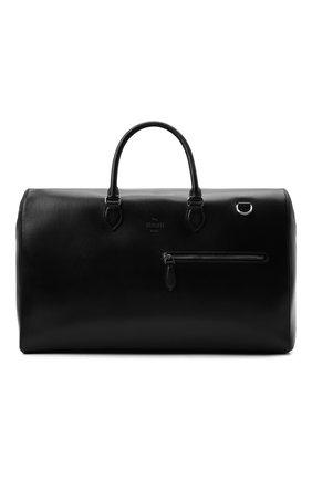 Мужская кожаная дорожная сумка BERLUTI черного цвета, арт. M229486   Фото 1