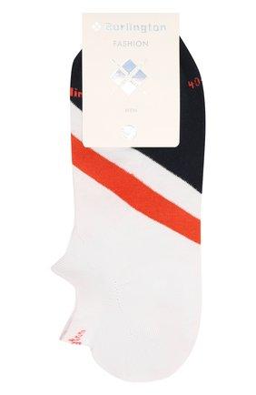 Мужские хлопковые носки BURLINGTON белого цвета, арт. 21929 | Фото 1