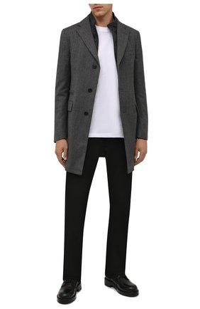 Мужской шерстяное пальто CORNELIANI темно-серого цвета, арт. 881590-1812402/00 | Фото 2