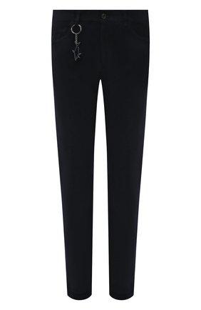 Мужские хлопковые брюки PAUL&SHARK темно-синего цвета, арт. 11314073/FEF | Фото 1