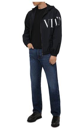 Мужские комбинированные кроссовки DOUCAL'S темно-серого цвета, арт. DU2880WINNPM4672N00 | Фото 2 (Материал внешний: Текстиль; Материал утеплителя: Натуральный мех; Подошва: Массивная; Стили: Классический)