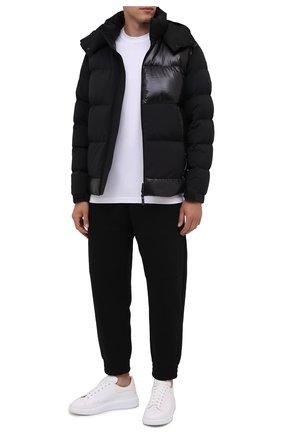 Мужская пуховая куртка pallardy MONCLER черного цвета, арт. G2-091-1A000-30-53132 | Фото 2