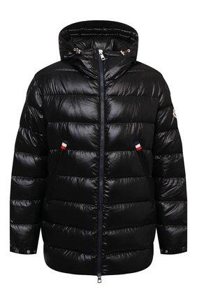 Мужская пуховая куртка courcillon MONCLER черного цвета, арт. G2-091-1A000-19-68950 | Фото 1