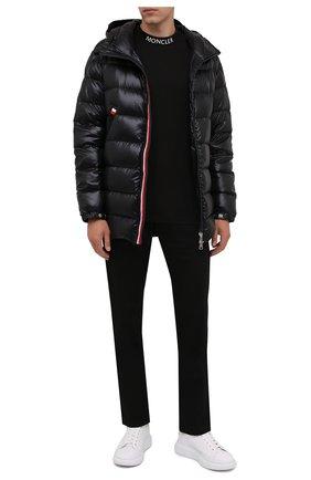 Мужская пуховая куртка courcillon MONCLER черного цвета, арт. G2-091-1A000-19-68950 | Фото 2