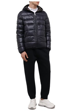 Мужская двусторонняя куртка freville MONCLER темно-синего цвета, арт. G2-091-1A000-15-68950 | Фото 2