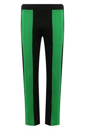 Мужские брюки BOTTEGA VENETA черного цвета, арт. 665907/V0C10 | Фото 1 (Материал внешний: Синтетический материал, Вискоза; Длина (брюки, джинсы): Стандартные; Случай: Повседневный; Мужское Кросс-КТ: Брюки-трикотаж; Стили: Спорт-шик)