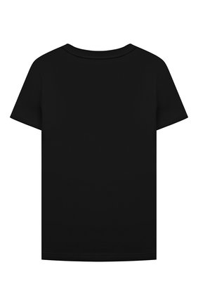 Детская хлопковая футболка GIVENCHY черного цвета, арт. H25299 | Фото 2