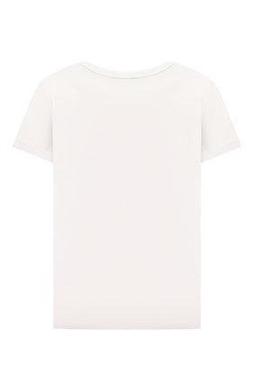 Детская хлопковая футболка MARC JACOBS (THE) белого цвета, арт. W15590 | Фото 2
