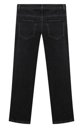 Детские джинсы FENDI серого цвета, арт. JUF046/AG3B/3A-6A   Фото 2