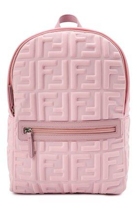 Детская рюкзак FENDI розового цвета, арт. 8BZ040/AFU9 | Фото 1