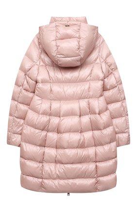 Детское пуховое пальто HERNO светло-розового цвета, арт. PI0115G/12017/4A-8A | Фото 2