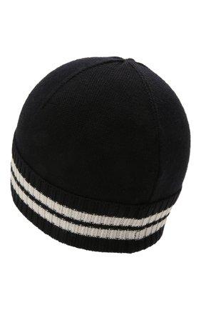 Детского шапка MONCLER темно-синего цвета, арт. G2-954-9Z734-20-A9630 | Фото 2