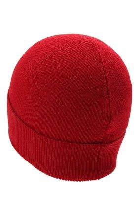 Детского шапка MONCLER красного цвета, арт. G2-954-9Z731-00-A9632 | Фото 2