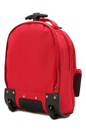 Детский чемодан DOLCE & GABBANA красного цвета, арт. EM0057/AT994   Фото 2 (Материал: Текстиль)