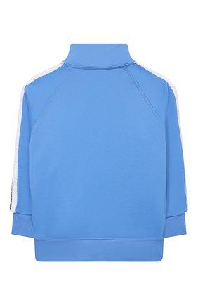 Детский толстовка DSQUARED2 голубого цвета, арт. DQ0305-D003S | Фото 2