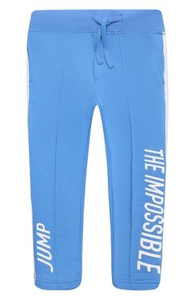 Детские брюки DSQUARED2 голубого цвета, арт. DQ0307-D003S | Фото 1