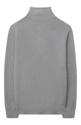 Детский хлопковый свитер POLO RALPH LAUREN серого цвета, арт. 323850965 | Фото 2 (Материал внешний: Хлопок; Рукава: Длинные; Мальчики Кросс-КТ: Пуловер-одежда; Ростовка одежда: 13 - 15 лет | 158 см, 10 - 11 лет | 140 - 146см, 9 лет | 134 см, 16 лет | 164 см)