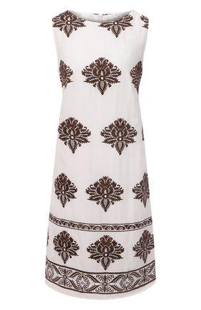 Женское платье из вискозы EVA B.BITZER кремвого цвета, арт. 11313089   Фото 1