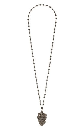 Женская подвеска на цепочке GL JEWELRY серебряного цвета, арт. PB573 | Фото 1 (Материал: Серебро)