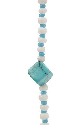 Женские цепочка для очков HIAYNDERFYT голубого цвета, арт. 1-0LBCB | Фото 2
