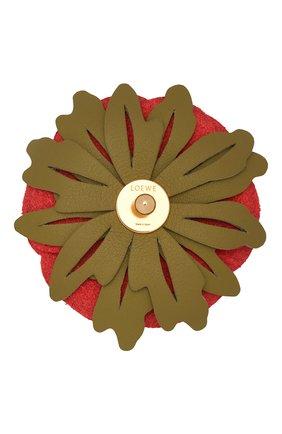 Женские украшение для сумки LOEWE красного цвета, арт. C000160X01 | Фото 2