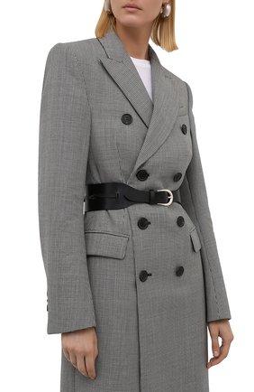 Женский кожаный ремень IRO черного цвета, арт. WP50MACK | Фото 2