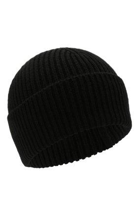 Мужская кашемировая шапка INVERNI черного цвета, арт. 5321 CM   Фото 1