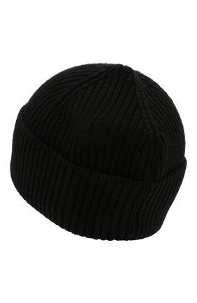 Мужская кашемировая шапка INVERNI черного цвета, арт. 5321 CM   Фото 2