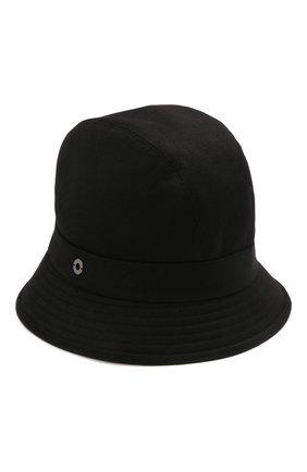 Женская кашемировая шляпа LORO PIANA черного цвета, арт. FAL2348 | Фото 1 (Материал: Кашемир, Шерсть)