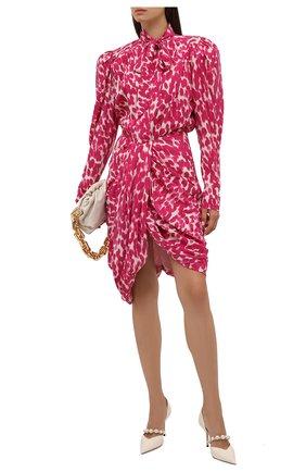 Женские кожаные туфли aurelie 85 JIMMY CHOO кремвого цвета, арт. AURELIE 85/XKM | Фото 2
