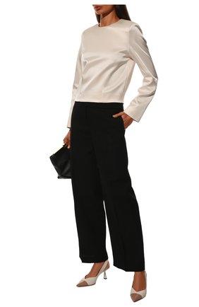 Женские кожаные туфли liya 65 JIMMY CHOO кремвого цвета, арт. LIYA 65/ZY0 | Фото 2