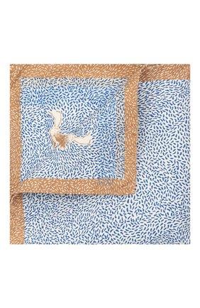 Мужской шелковый платок ETON голубого цвета, арт. A000 33108   Фото 1
