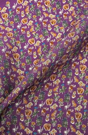 Мужской шелковый платок ETON фиолетового цвета, арт. A000 33121   Фото 2