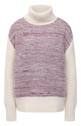 Женский кашемировый свитер KITON разноцветного цвета, арт. D52761X0480A   Фото 1 (Материал внешний: Кашемир, Шерсть; Рукава: Длинные; Длина (для топов): Стандартные; Стили: Кэжуэл; Женское Кросс-КТ: Свитер-одежда)