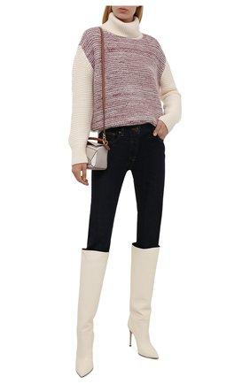 Женский кашемировый свитер KITON разноцветного цвета, арт. D52761X0480A   Фото 2 (Материал внешний: Кашемир, Шерсть; Рукава: Длинные; Длина (для топов): Стандартные; Стили: Кэжуэл; Женское Кросс-КТ: Свитер-одежда)