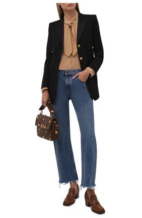 Женские кожаные туфли GIANVITO ROSSI коричневого цвета, арт. G25228.60CU0.CLNCU0I | Фото 2