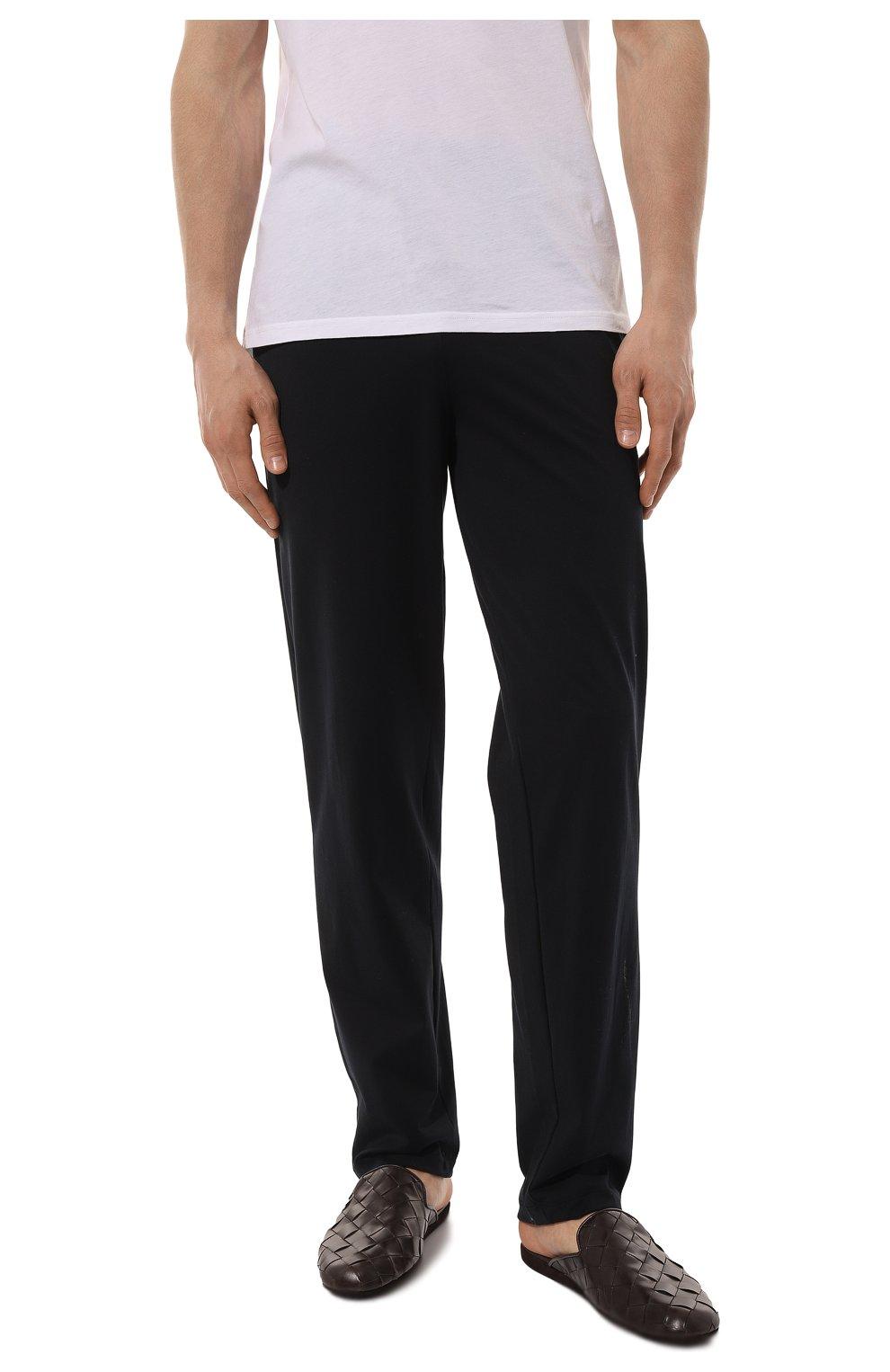 Мужского кожаные домашние туфли HOMERS AT HOME коричневого цвета, арт. 20428/P0NCH0   Фото 3 (Материал внутренний: Натуральная кожа; Мужское Кросс-КТ: тапочки-обувь)