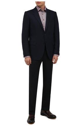 Мужские кожаные монки DOUCAL'S бордового цвета, арт. DU2921B0LLUF063NL01 | Фото 2 (Материал внутренний: Натуральная кожа; Стили: Классический)