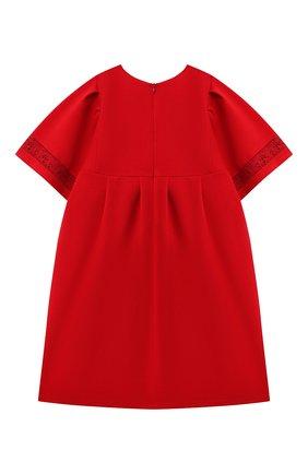 Детское платье CHLOÉ красного цвета, арт. C12843 | Фото 2