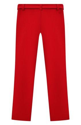 Детские брюки с ремнем CHLOÉ красного цвета, арт. C1463A | Фото 2