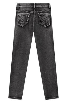 Детские джинсы MONNALISA черного цвета, арт. 198400R2 | Фото 2 (Материал внешний: Хлопок; Материал подклада: Синтетический материал; Кросс-КТ: джинсы; Ростовка одежда: 10 - 11 лет | 140 - 146см, 12 лет | 152 см, 3 года | 98 см, 4 года | 104 см, 5 лет | 110 см, 6 лет | 116 см, 7 лет | 122 см, 8 лет | 128 см)