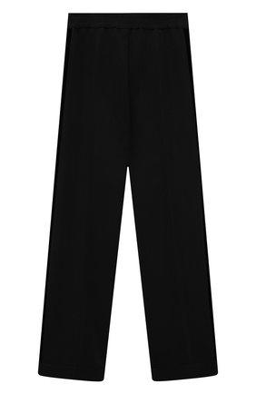 Детские брюки MONNALISA черного цвета, арт. 718405   Фото 1
