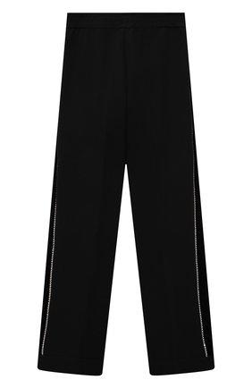 Детские брюки MONNALISA черного цвета, арт. 718405   Фото 2