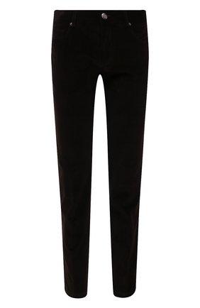 Мужские хлопковые брюки CORNELIANI коричневого цвета, арт. 884L01-1818502/00 | Фото 1