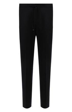 Мужские шерстяные брюки CORNELIANI черного цвета, арт. 884L03-1818117/00 | Фото 1