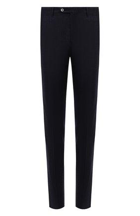 Мужские шерстяные брюки CORNELIANI темно-синего цвета, арт. 885B01-1817505/02 | Фото 1