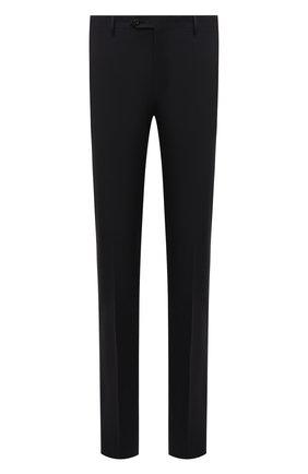 Мужские шерстяные брюки CORNELIANI темно-серого цвета, арт. 885B01-1818119/02 | Фото 1
