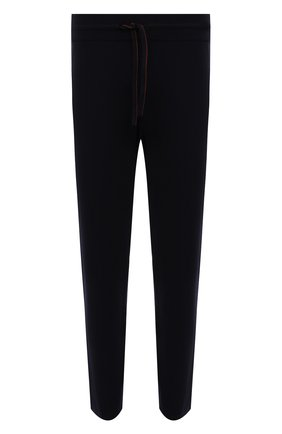 Мужские кашемировые брюки LORO PIANA темно-синего цвета, арт. FAG4527 | Фото 1 (Материал внешний: Кашемир, Шерсть; Случай: Повседневный; Мужское Кросс-КТ: Брюки-трикотаж; Стили: Кэжуэл; Длина (брюки, джинсы): Стандартные)