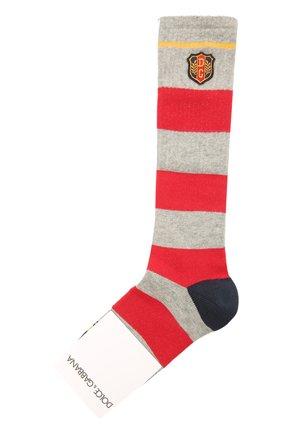 Детские хлопковые носки DOLCE & GABBANA разноцветного цвета, арт. LBKA83/JACKG | Фото 1