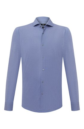 Мужская рубашка BOSS синего цвета, арт. 50454007 | Фото 1